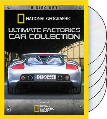 Ultimate Factories: Car Collection (5-DVD)