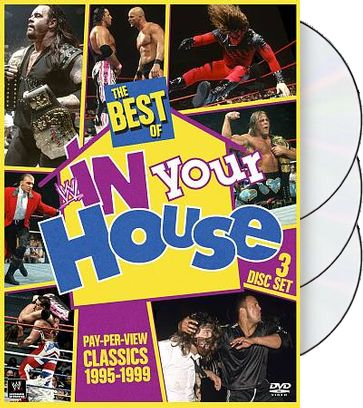 WWE: The Best of WWE in Your House(3-DVD)