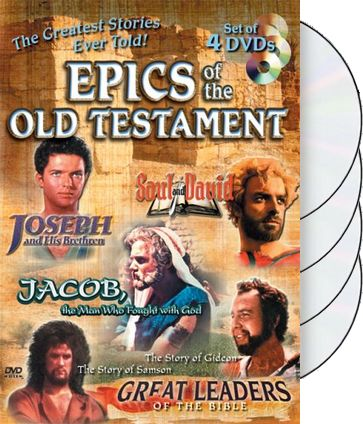 Epics of the Old Testament (4-DVD)