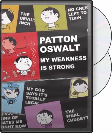 Patton Oswalt: My Weakness is Strong (DVD, CD)