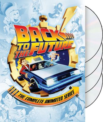 back to the future complete animated series 4 dvd 2015 starring christopher lloyd bill. Black Bedroom Furniture Sets. Home Design Ideas