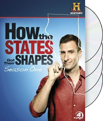 How the States Got Their Shapes - Season 1 (4-DVD)