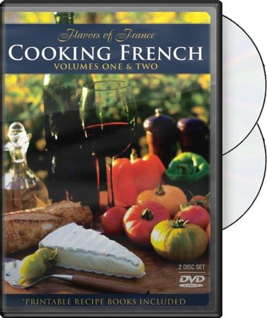 Food - Cooking French, Volume 1 & 2 (2-DVD)
