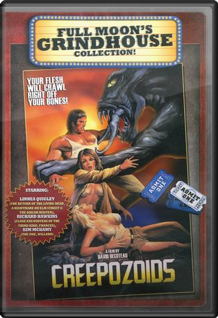 Creepozoids (Grindhouse Collection Packaging)