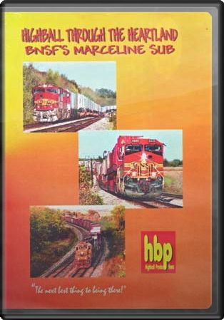 Highball Through the Heartland: BNSF's Marceline