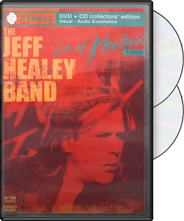 Jeff Healey Band - Live at Montreux 1999 (DVD+CD)