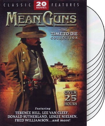 Mean Guns: 20 Movie Collection (4-DVD)