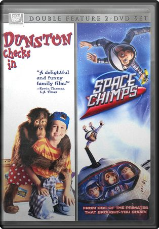 Dunston Checks In / Space Chimps (2-DVD)