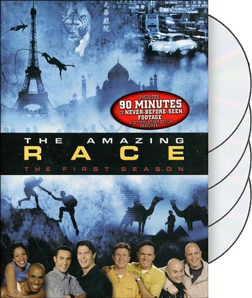 Amazing Race - Season 1 (4-DVD)