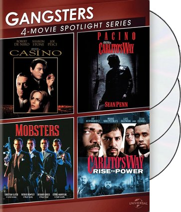 Gangsters: 4-Movie Spotlight (3-DVD)