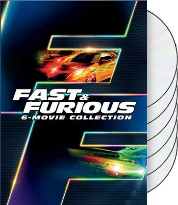 Fast & Furious 6-Movie Collection (6-DVD)