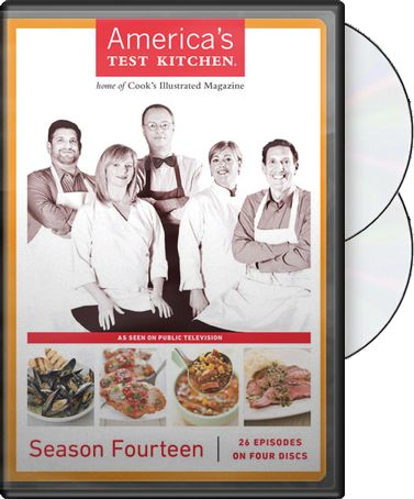 America's Test Kitchen - Season 14 (2-DVD)