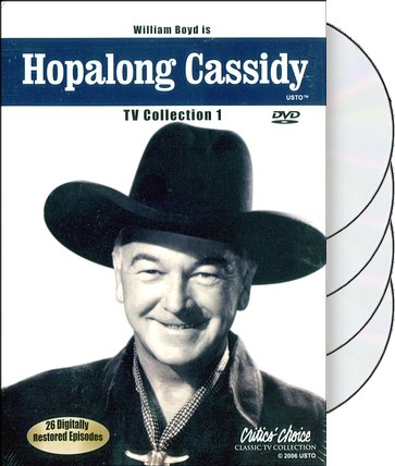 Hopalong Cassidy - TV Collection 1 (4-DVD)
