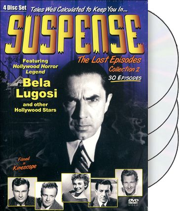 Suspense - Lost Episodes Collection 2 (4-DVD)