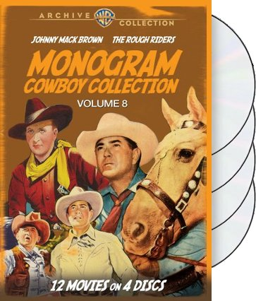 Monogram Cowboy Collection, Volume 8 (4-Disc)
