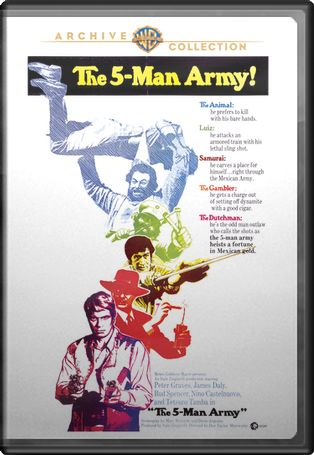 The 5-Man Army (Widescreen)