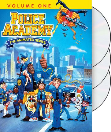 Police Academy Animated Series - Volume 1 (3-Disc)
