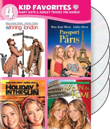 4 Kid Favorites: Mary-Kate & Ashley Travel the
