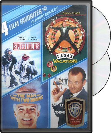4 Film Favorites: Classic Comedy (Spies Like Us /