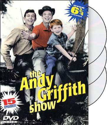 The Andy Griffith Show - 15 Episodes (3-DVD)
