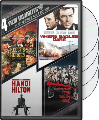 4 Film Favorites: War Heroes Collection (Kelly's