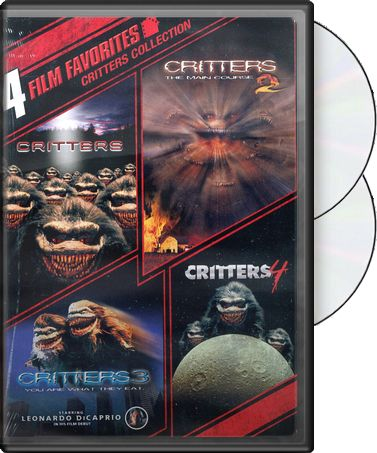 Critters Collection: 4 Film Favorites (2-DVD)