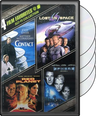 4 Film Favorites: Sci-Fi Collection (Contact /