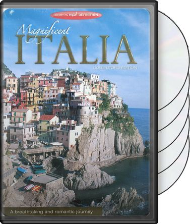 Travel - Magnificent Italia (5-DVD) (Tin Case)