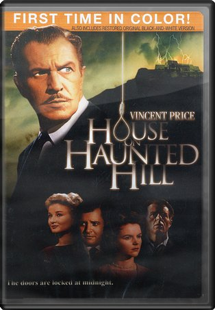 House on Haunted Hill (Colorized and B&W Versions)