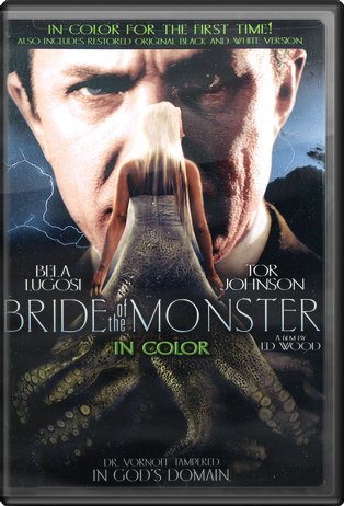 Bride of the Monster (Includes Color and B&W