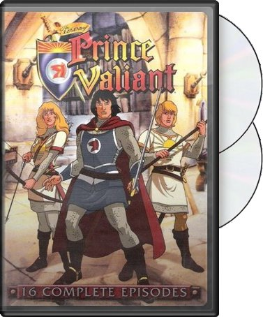 The Legend of Prince Valiant - 16 Episodes (2-DVD)