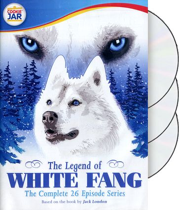 Legend of White Fang - Complete Series (3-DVD)