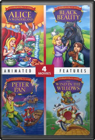 4-Movie Animated Feature Collection (Alice in