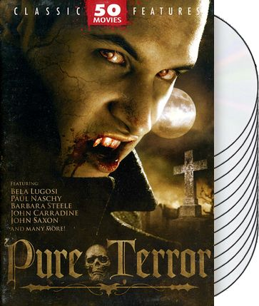 Pure Terror: 50 Movie Collection (12-DVD)