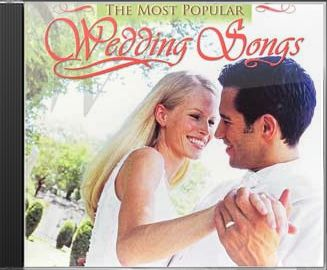 The Most Popular Wedding Songs