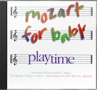 Mozart For Baby: Playtime