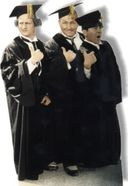 The Three Stooges - Graduates Life-Size Standup