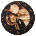 "John Wayne - 13.5"" Wood Wall Clock"