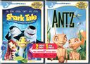 Shark Tale / Antz (2-DVD, Keep Case, Tattoos