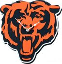 Football - Chicago Bears Bear Head - 3D Foam Wall