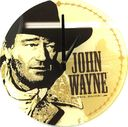 "John Wayne - 12"" Glass Wall Clock"