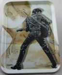 Elvis Presley - Leather Suit - Tray