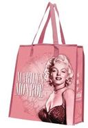 Marilyn Monroe - Large Pink Recycled Shopper Tote