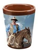 John Wayne - Duke - Ceramic Shot Glass