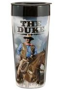 John Wayne - Duke - 16 oz. Plastic Travel Mug