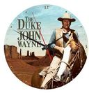 "John Wayne - 13.5"" Cordless Wood Wall Clock"
