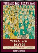 Texas A&M Aggies - 2016 Vintage Football Calendar