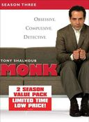 Monk - Seasons 3 & 4 (8-DVD)