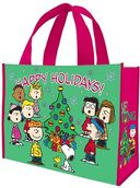 Peanuts - Happy Holidays Large Recycled Shopper