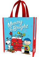 Peanuts - Merry & Bright: Small Recycled Shopper